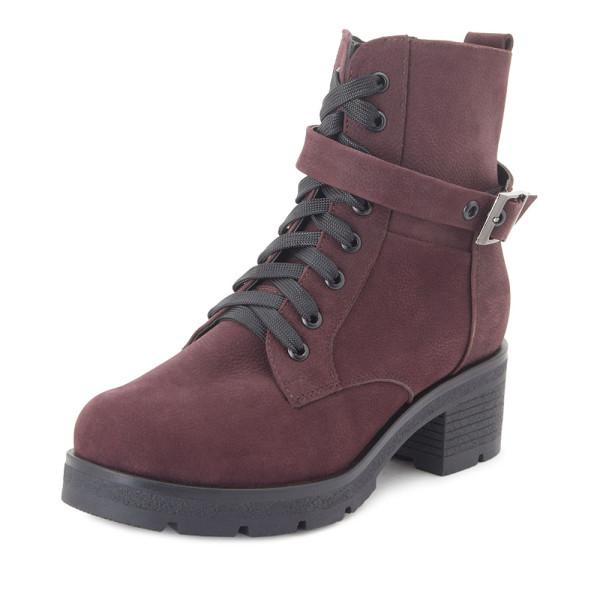 Ботинки женские Footstep MS 22418 бордовый