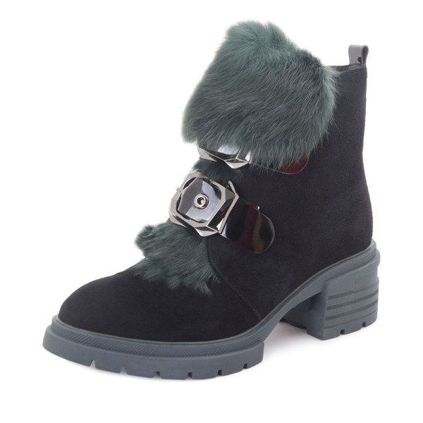 Ботинки женские Tomfrie MS 22425 черный