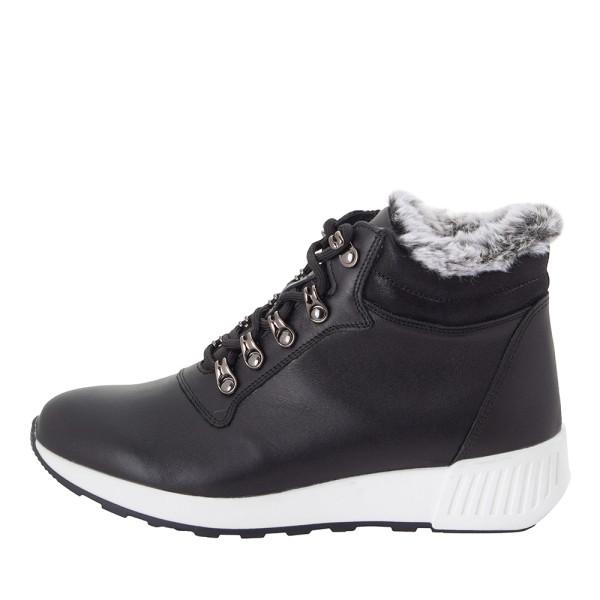 Ботинки женские MIDA MS 22430 черный