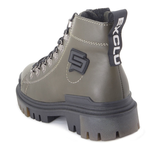 Ботинки женские Tomfrie MS 22431 хаки