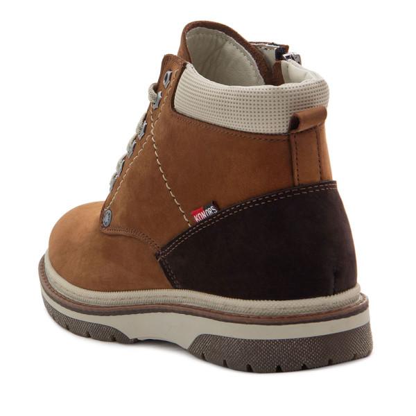 Ботинки зимние подростоковые Konors MS 22435 коричневый