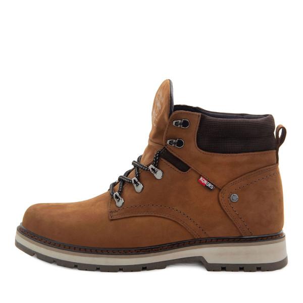 Ботинки зимние мужские Konors MS 22437 рыжий