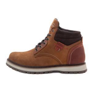 Ботинки зимние мужские Konors MS 22438 рыжий