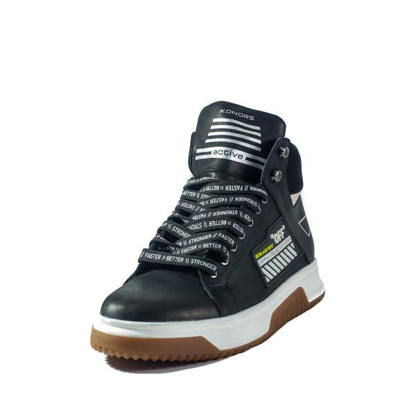 Ботинки зимние мужские Konors MS 22445 черный