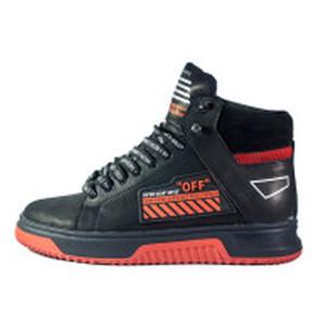 Ботинки зимние мужские Konors MS 22446 черный