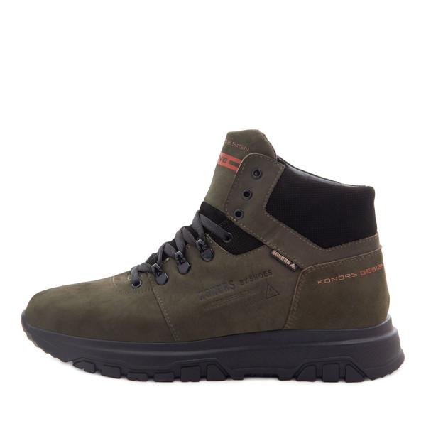 Ботинки зимние мужские Konors MS 22448 зеленый