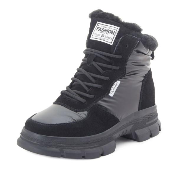 Ботинки женские Tomfrie MS 22455 черный