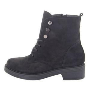 Ботинки женские Milanti MS 22458 черный