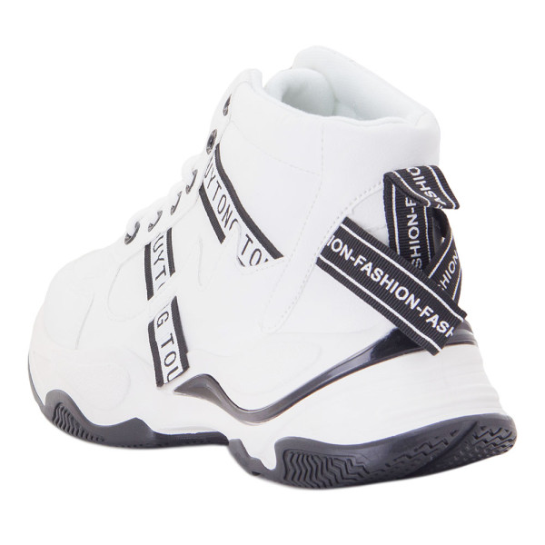 Ботинки женские Erra MS 22249 белый
