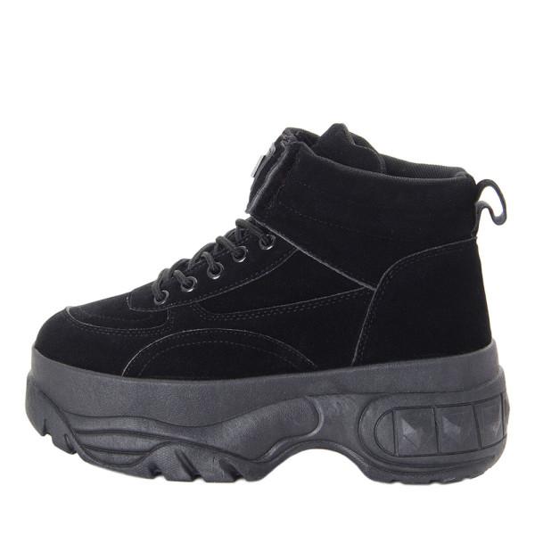 Ботинки женские Erra MS 22484 черный