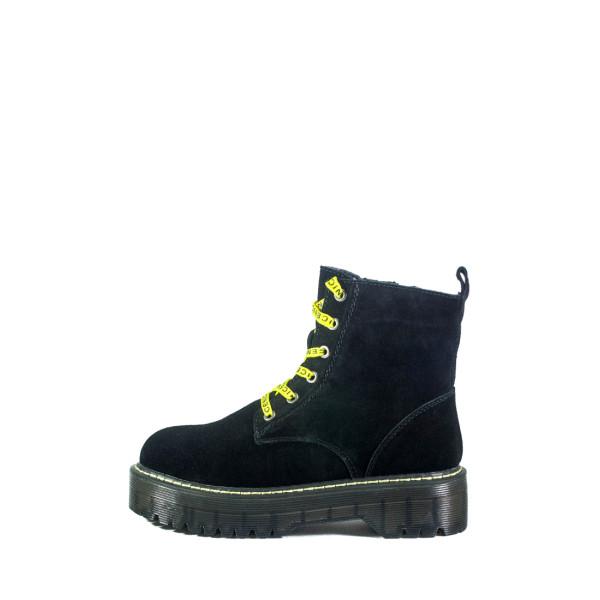 Ботинки женские Optima MS 22491 черный