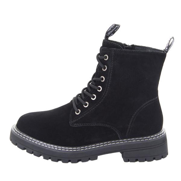 Ботинки женские Optima MS 22492 черный