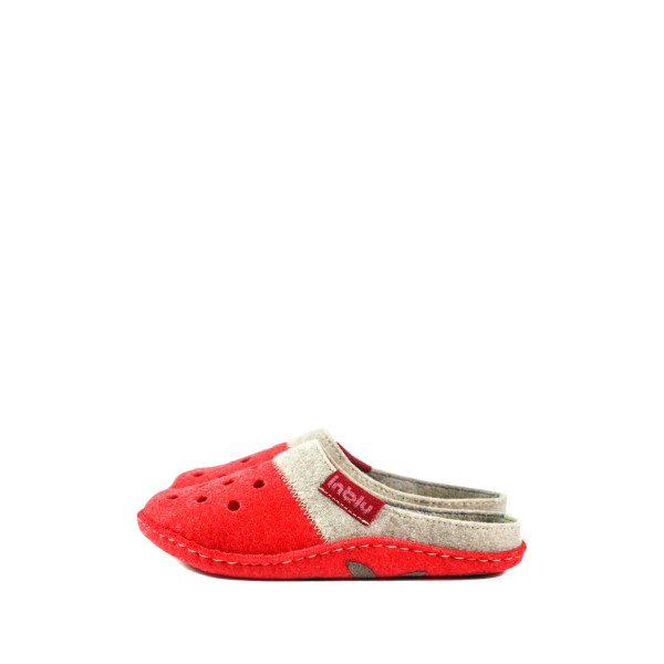 Тапочки комнатные женские Inblu P2-1D красные