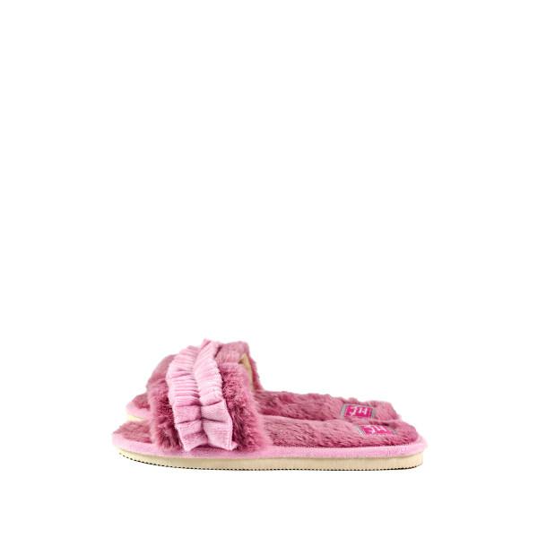 Тапочки комнатные женские Home Story 201043-E розовые