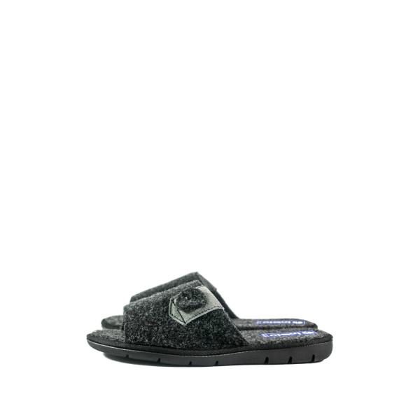 Тапочки комнатные мужские Inblu 91-5D темно-серый