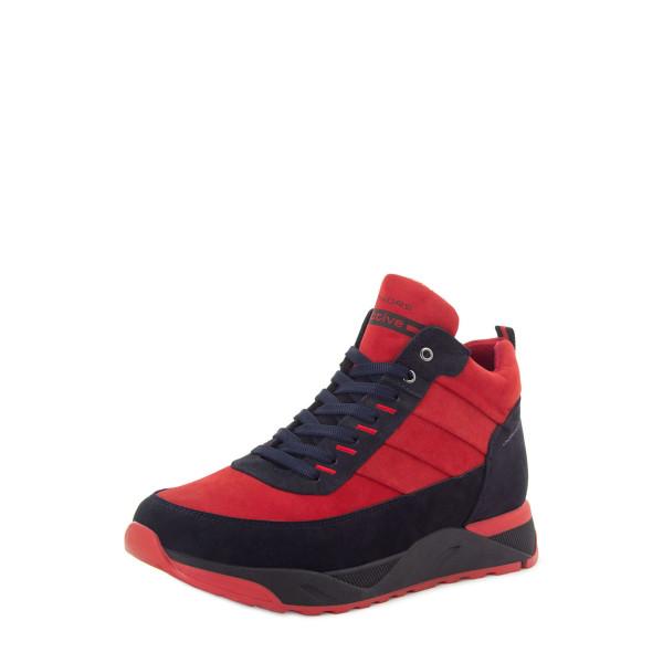 Ботинки мужские Konors MS 22568 красные