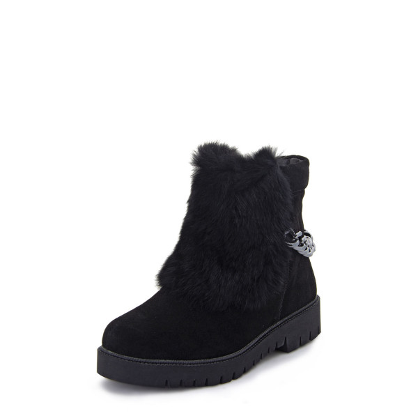 Ботинки женские Optima MS 22573 черный