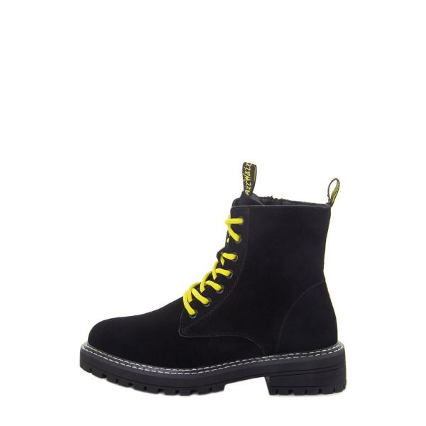 Ботинки женские Optima MS 22576 черный
