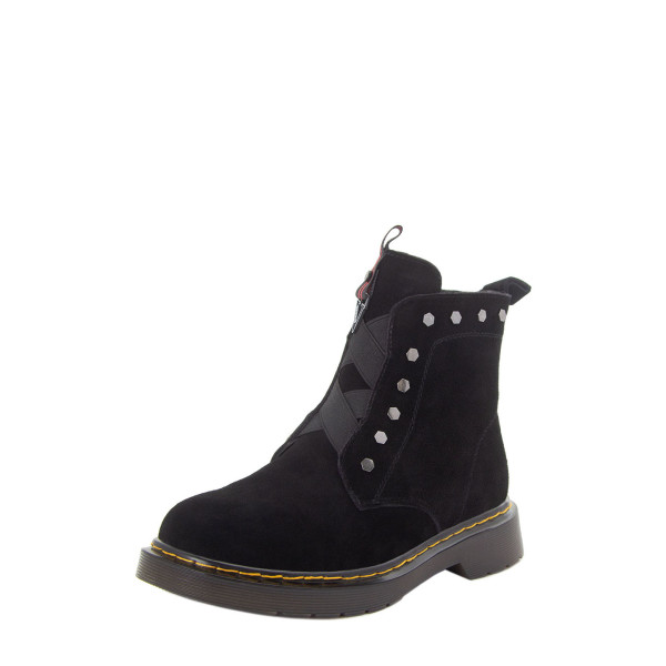 Ботинки женские Optima MS 22582 черный