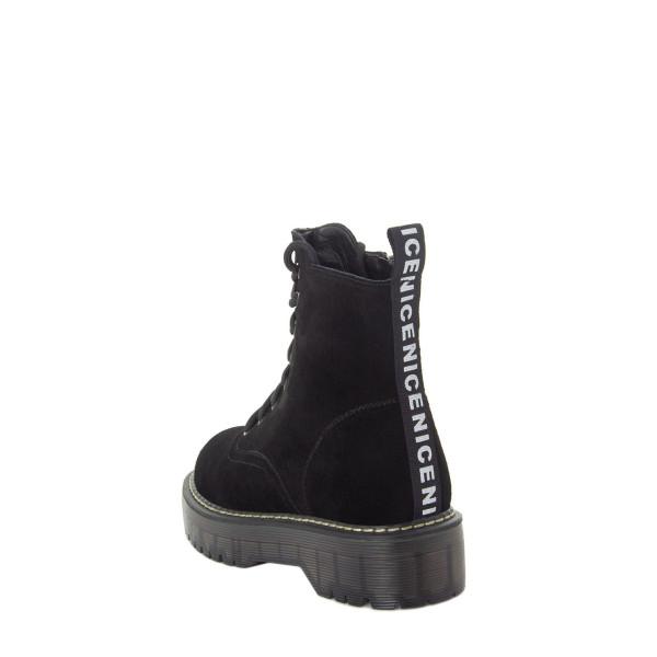 Ботинки женские Optima MS 22583 черный
