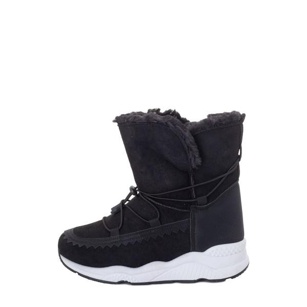 Ботинки женские Erra MS 22609 черный