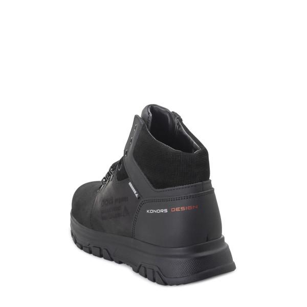 Ботинки мужские Konors MS 22617 черный