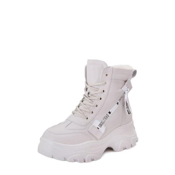Ботинки женские Tomfrie MS 22640 Белые