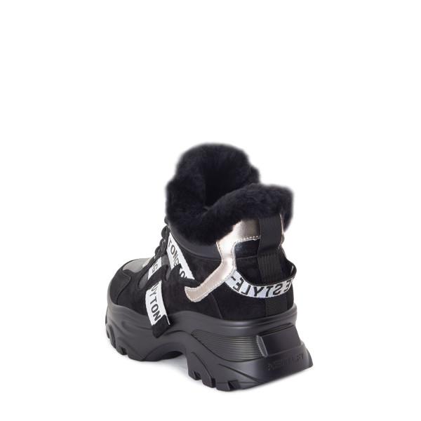 Ботинки женские Tomfrie MS 22643 черный