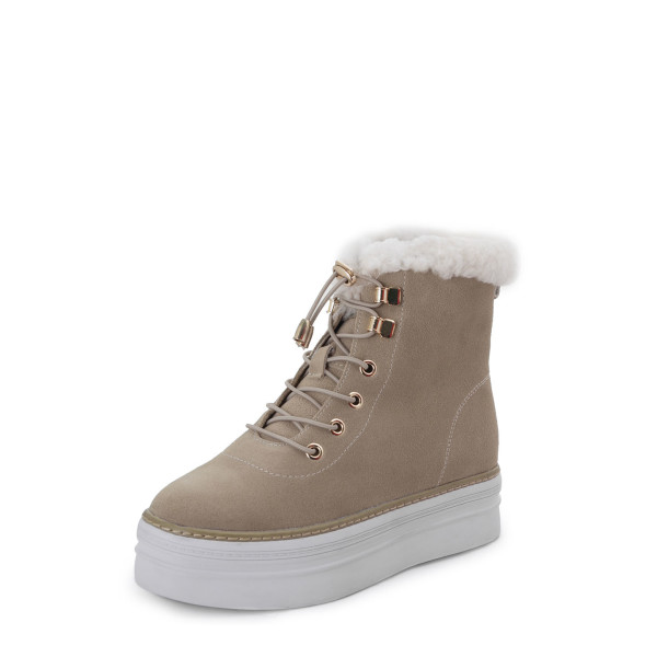 Ботинки женские Tomfrie MS 22646 бежевый