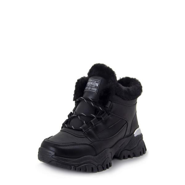 Ботинки женские Optima MS 22712 черный