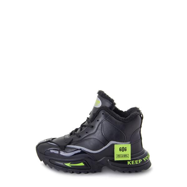 Ботинки женские Optima MS 22716 черный