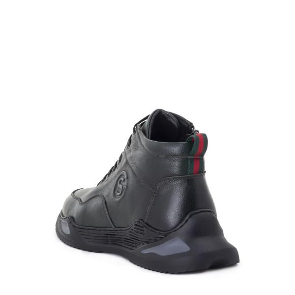 Ботинки мужские Philip Smit MS 22755 темно зеленый