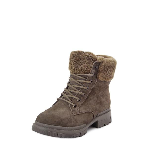 Ботинки женские Tomfrie MS 22757 хакки