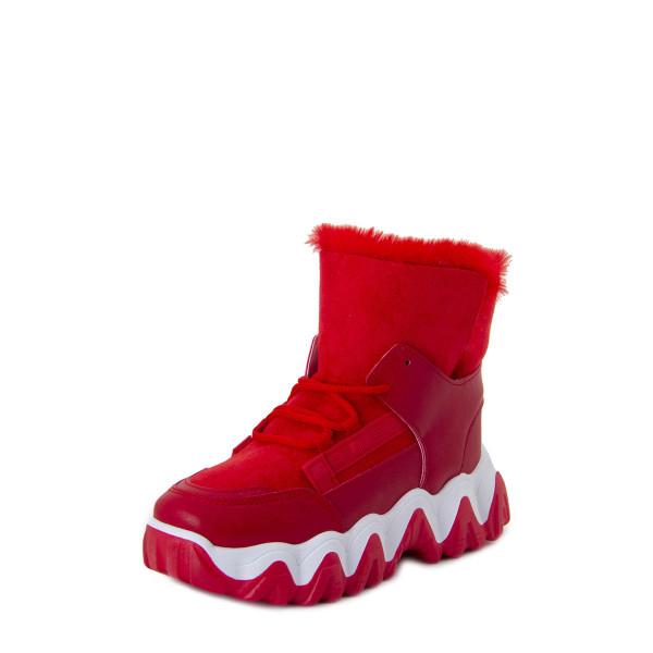 Ботинки женские БАШИЛИ MS 22732 красный