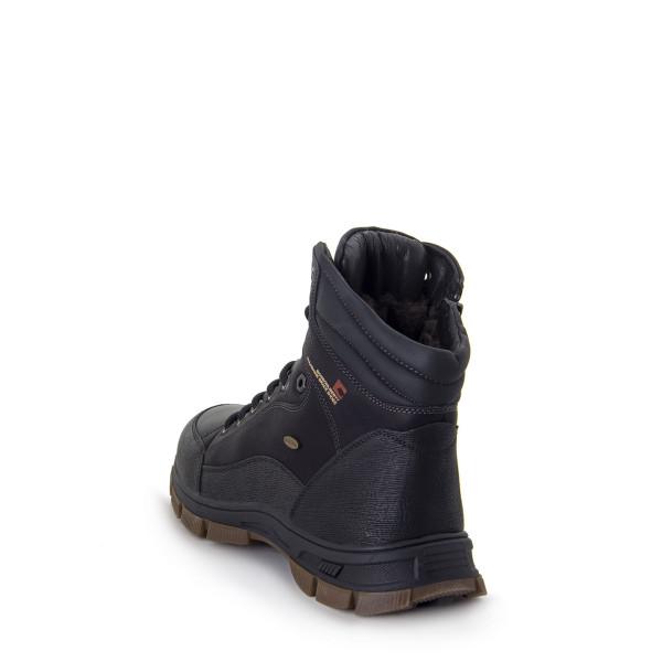 Ботинки мужские Optima MS 22733 черный
