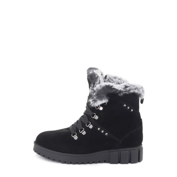 Ботинки женские MIDA MS 22751 черный