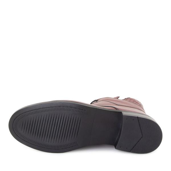 Ботинки женские ALTA MS 22783 бордовый