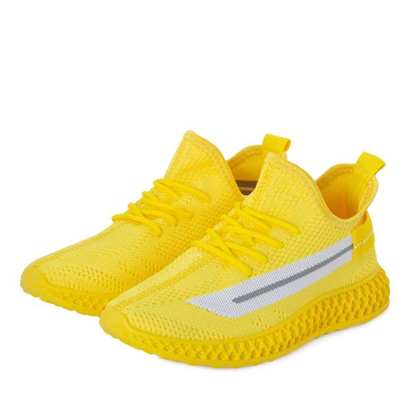 Кроссовки женские Standart MS 22804 желтый