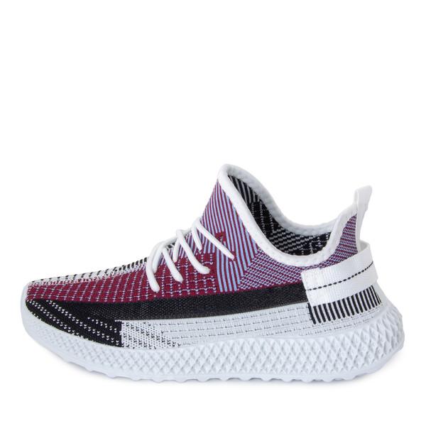 Кроссовки мужские Standart MS 22850 белый, фиолетовый