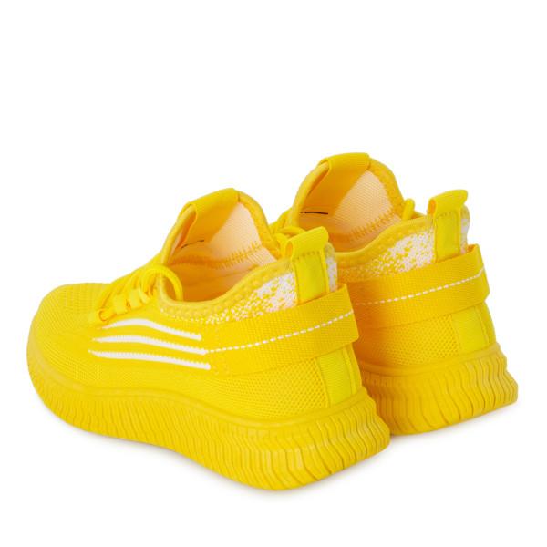 Кроссовки женские Standart MS 22814 желтый