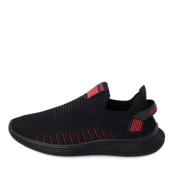 Кроссовки мужские Standart MS 22854 черный, красный