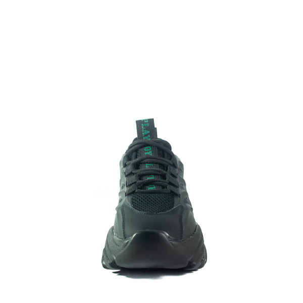 Кроссовки демисезон женские Lonza HLN39515 черные