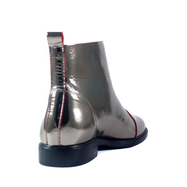 Ботинки женские Anna Lucci C5-Z02G-61425YH металлик