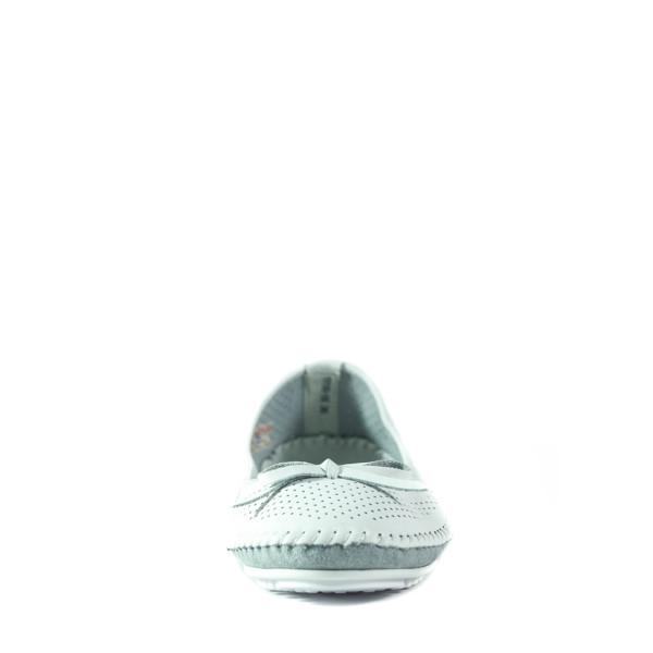 Балетки женские Allshoes 19199-5К белые