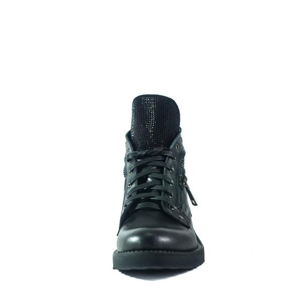 Ботинки демисезон женские Lonza 278-2541LZ черные