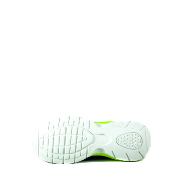 Кроссовки женские Sopra 279-4 бело-зеленые