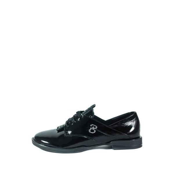 Туфли женские Lonza 0513-2904KL черные
