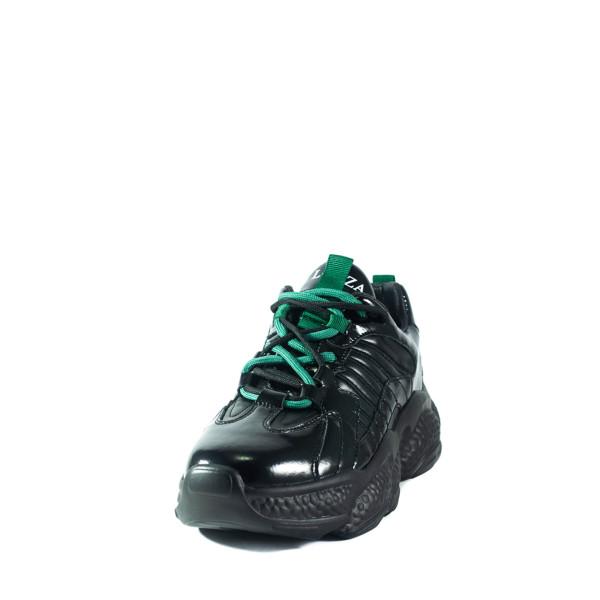 Кроссовки демисезон женские Lonza 6136 черные