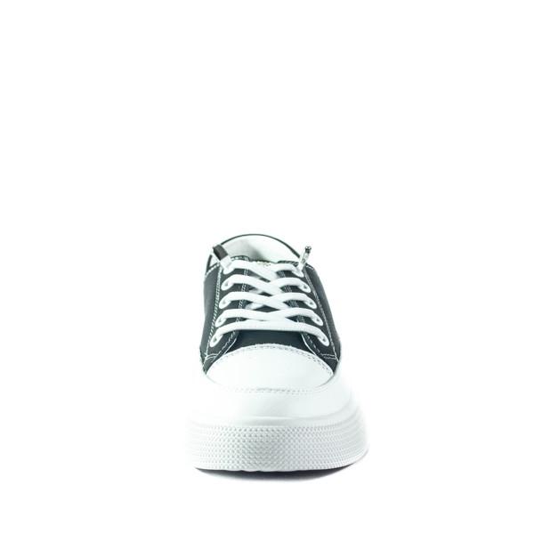 Кеды женские Lonza HLN2207 черно-белые