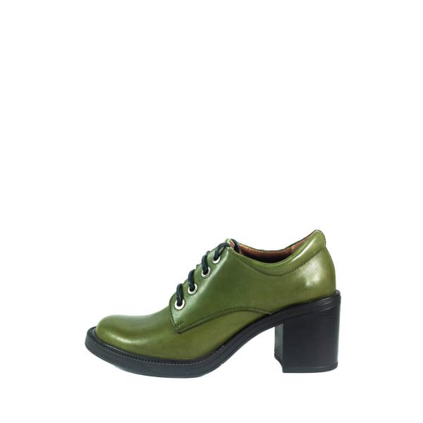 Ботильоны женские Lonza 2615-369-17L темно-зеленые